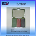 3 camuflagem cores pintura facial