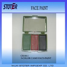 3 Colors Camouflage Face Paint