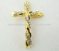 CH-LAB0124 Crosses Charms,Sideway Crosses,Sideway Crosses Wholesale 29*43 mm