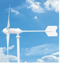 5KW wind power generator system / wind power generator for domestic electric appliance