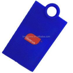 Best quality new coming amazing silicone luggage labels/tags