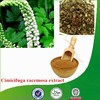 Factory supply Natural & Pure favorable-price Cimicifuga racemosa extract, Triterpene Glycosides, Black Cohosh Extract