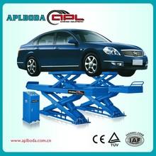 Asymmetric Column Clear Floor Car Lift