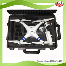 DJI phantom case with the foam for remote controller releasing fully version