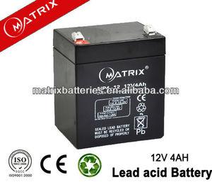 Fabrica precio de venta directa 12 v 4ah batería nife