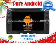 Puro Android 4.2 PARA Renault Megane coche DVD GPS con pantalla capacitiva Multi Touch, 8'' 1GHz de doble núcleo