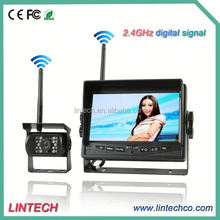 No interference-2.4GHz digital wireless auto reverse system auto parking sensor