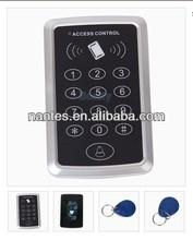 Door Entry Lock Access Control System + 10 Keyfobs 1000 user EM Card Password