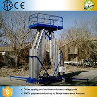 20 m 200 kg aluminum aerial man ladder for sale
