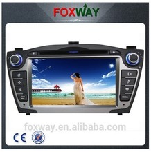All in one 7inch in dash hyundai tucson dvd car radio with GPS navigation system