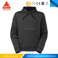 OEM your design personality custom solid black sweater fleece hoodie for autumn wear---7 years alibaba experience