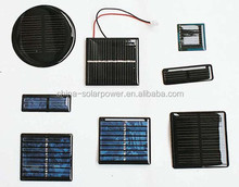 for LED light toys 0.1W-3W small Epoxy solar panel
