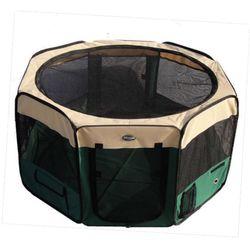 Pet supplies wholesale Oxford cloth folding portable ventilation cage pet cage - No.