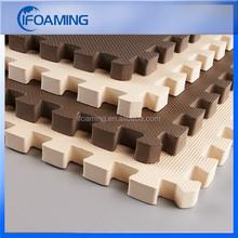 interlocking rubber mat / foam interlocking mat / interlocking exercise mat
