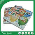 los niños de la fiesta de cumpleaños ballon decoupage servilletas de papel