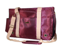 Fashion Stylish Fine Plaid Nylon Lovely Dog Bag