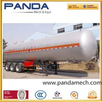 3axle 22.2cubic CNG trialer CNG semi trailer compressed natural gas semitrailer with factory price