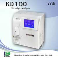 electrolyte analyzer in-house diagnostic testing KD100(K+, Na+, Cl-,Ca++,pH)