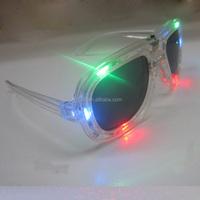 Nightclub bar Carnival Christmas party supplies,Light glasses LED 6 lights shutter Sunglasses