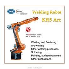 Welding of KUKA Robot Lowpayload KR5 arc