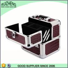 Beauty hard aluminum box vanity case