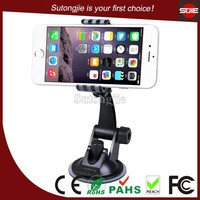 Funny car accessories adjustable angle bracket universal windshield cell phone mount car holder clip mobile cradle