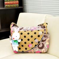 2015 alibaba hot sale cute design over the shoulder multi-function girls hand bag