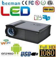 full hd led mini projector for smartphones Shenzhen Leeman NLP projector