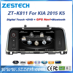 ZESTECH OEM 2 din Autoradio with GPS for KIA K5 2015 car dvd player with bluetooth fm am usb sd all in functions