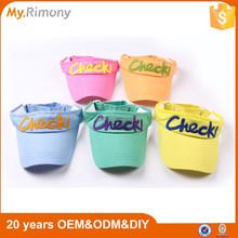 Children universal sun visors short sun visor cap