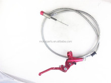 Master Cylinder hydraulic brake lever with 900mm or 1200mm cable for monkey bike dirt bike