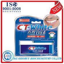 2013 CT-blanco orales limpiador dental de la salud, los dientes para blanquear los distribuidores de productos