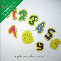 Fridge magnets For Promotion home decoration Kids Cartoo alphabet fridge magnets