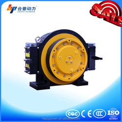 WTD1-B 450KG block brake elevator parts gearless traction machine of goods elevator with elevator push button