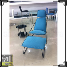 metal modern fabric leisure chair