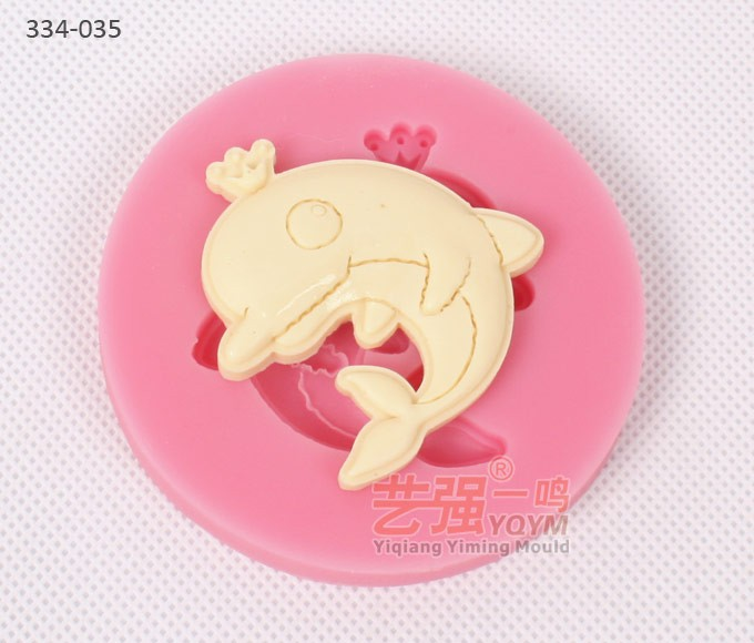Cake Decorating Animal Molds : Wholesale dolphin shape cake mold,sea animal molds ...