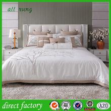 Cheap Promotional Wholesale bed sheet 100 polyester tricot brushed fabric with CE certificate