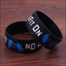 New food grade silicone bracelet silicone wrist band