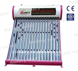 low cost Non-pressurized Solar geysers for India