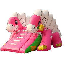cheap commercial small inflatable slide, inflatable jumping slide