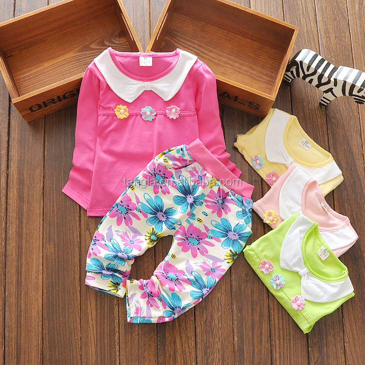 Baby Girl Clothes Set Factory Cheap Sale Baby Clothes