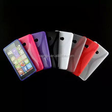 2015 new products X line tpu gel rubber skin for microsoft lumia 540 china wholesale