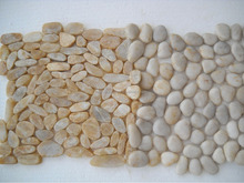 beautiful luxury and elegant cobble mosaic for indoor or outdoor application