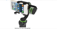 camera gimbal stabilizer for go pro and cellphone