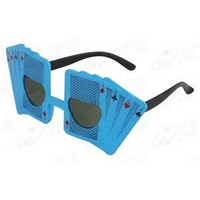 party decoration funny and novelty poker party glasses