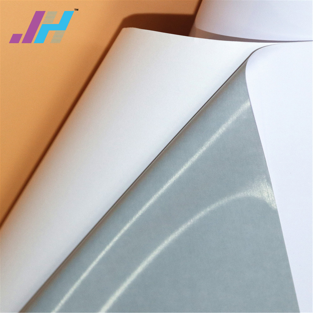 PVC-Material und Grau Kleber Selbstklebende Viny für Drucker