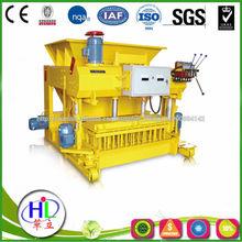 Máquina del bloque móvil qmy6-25 maquinas ponedora de bloques de cemento