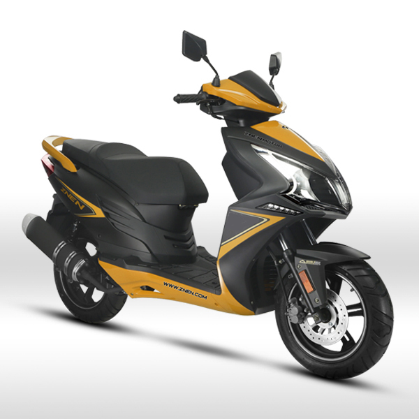 Fighter znen 2015 new scooter 125cc 150cc gas scooters for Cheap gas motor scooters