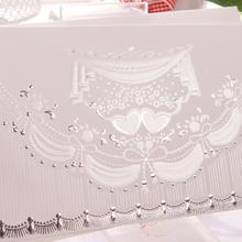 Luxury laminationed wedding invitation cards recordable