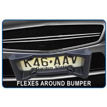 universal standard car front bumper ,front bumper for car license frame